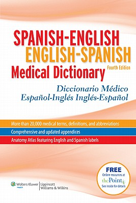 Mcelroy Spanish-English English-Spanish Medical Dictionary By Mcelroy, Onyria